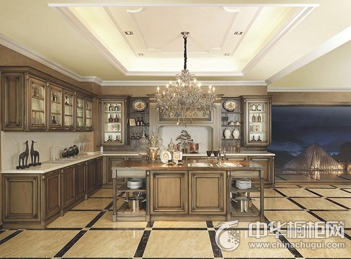 德贝厨柜-卢浮魅影系列  整体橱柜装修效果图