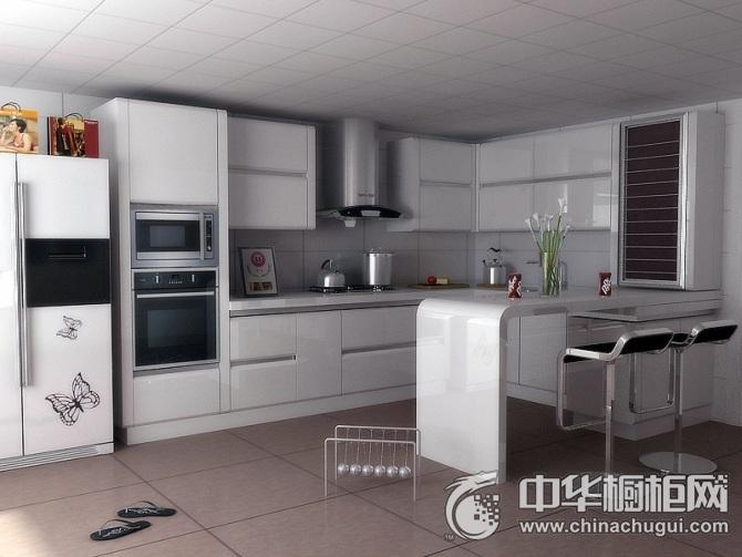 太太乐橱柜  12号整体橱柜图片   现代简约风格厨房装修效果图
