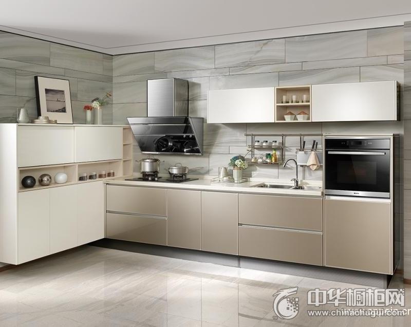 欧派橱柜 现代简约风格厨房装修效果图 幸福味道整体橱柜 编号:opc