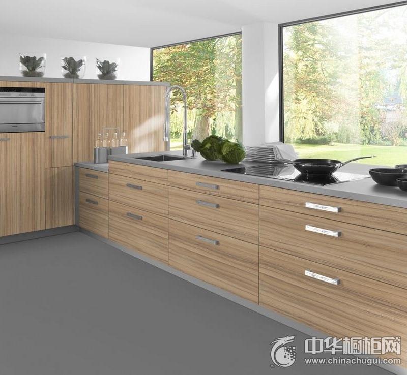 L型整体橱柜设计   现代简约风格整体橱柜效果图