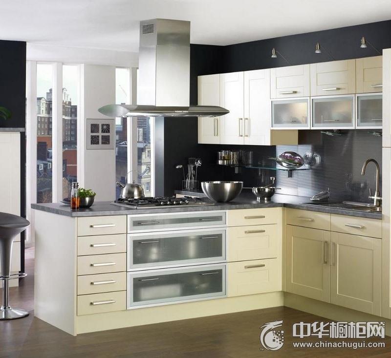 简约风格橱柜装修效果图   白色橱柜图片