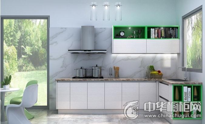 德宝西克曼橱柜-汉堡阳光系列整体橱柜图片  L型橱柜装修效果图