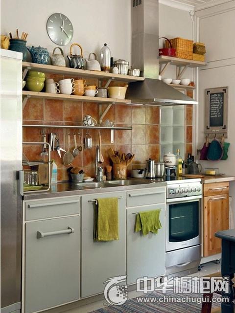 北欧风格整体橱柜图片 一字型橱柜效果图