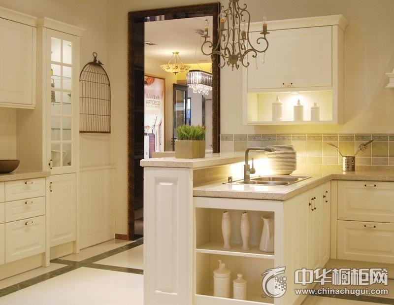 美高印象橱柜 萨斯菲系列整体橱柜图片 L型橱柜效果图
