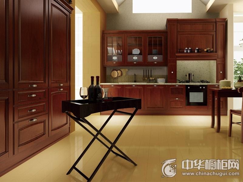 博洛尼整体厨房 亚C0010I橱柜效果图