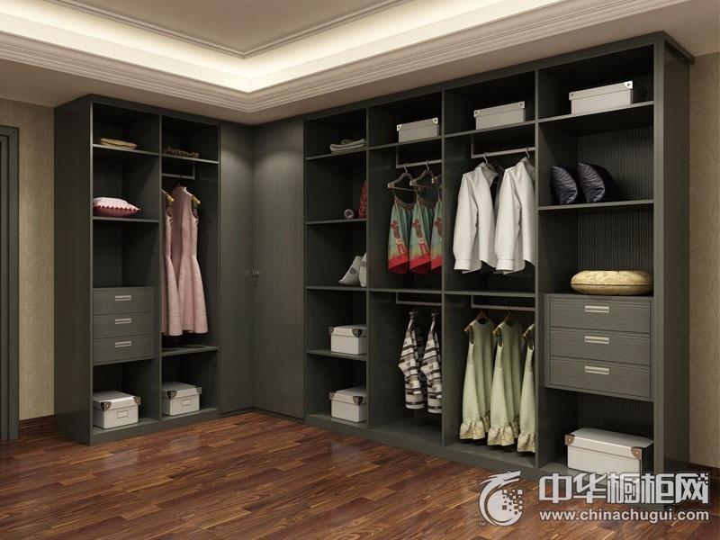 博洛尼整体厨房 比弗利Y077衣帽间套装 新古典奢华 后现代风格设计 L型衣帽间