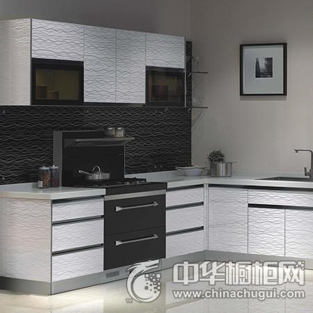 森歌集成灶 水漾年华系列集成灶图片 L型厨房效果图