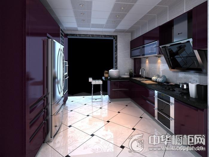 欧派橱柜 现代风格OPC00470橱柜图片 L型橱柜效果图