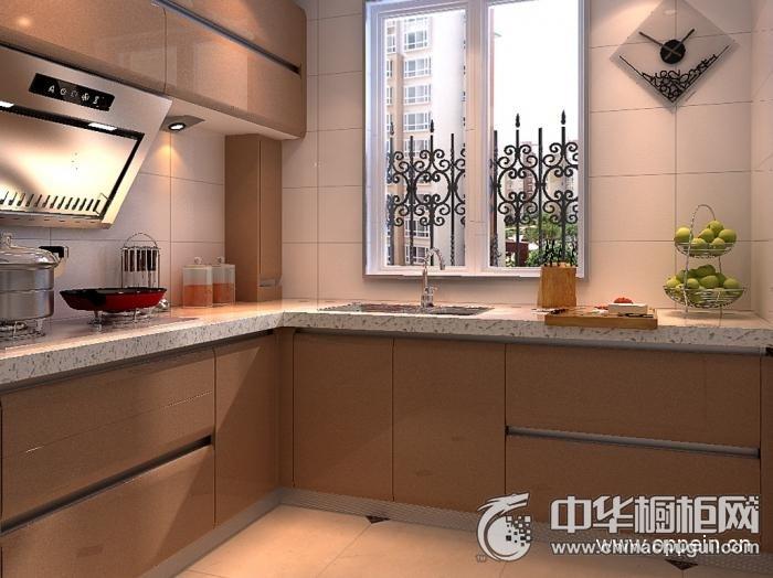 欧派橱柜 现代风格OPC00411橱柜图片 L型橱柜效果图