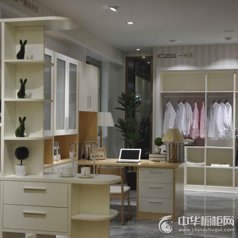 厨之宝橱柜 现代风格开放式衣柜图片