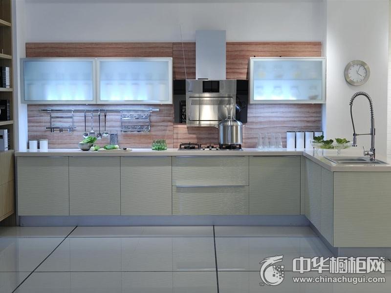 易佰利厨柜 吸塑系列-巴黎印象橱柜图片 简约风格橱柜效果图
