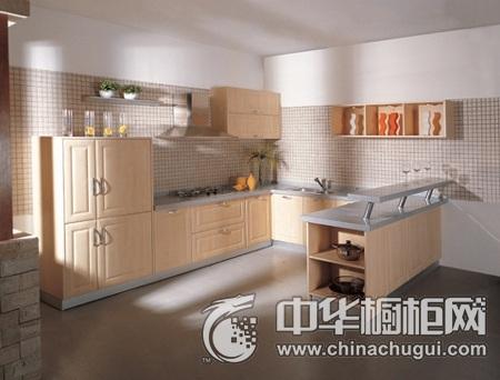 家和万事兴橱柜 吸塑橱柜系列图片 U型整体橱柜效果图