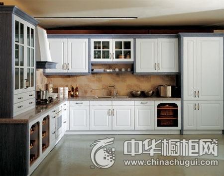 家和万事兴橱柜 吸塑橱柜系列图片 欧式风格整体橱柜效果图
