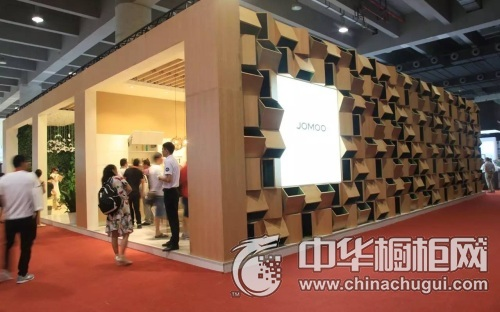 JOMOO厨柜首次征战广州建博会,引领厨房新风尚