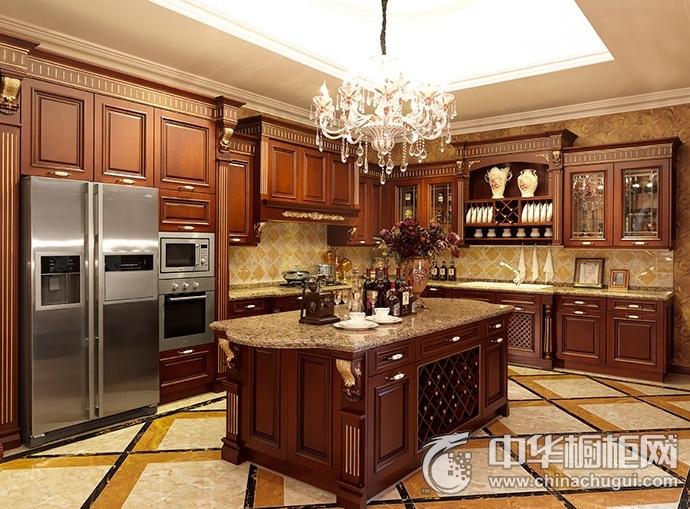 德贝厨柜图片 凯撒Ⅱ整体橱柜图片