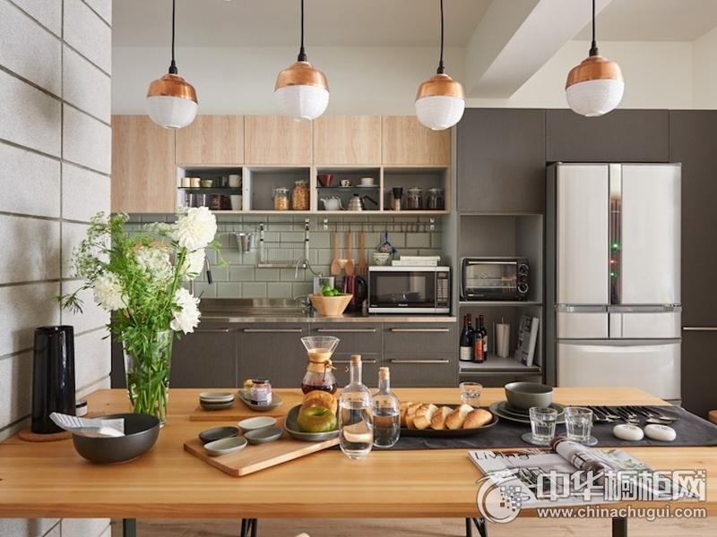 简洁厨房整体橱柜装修图片 整体橱柜装修图片