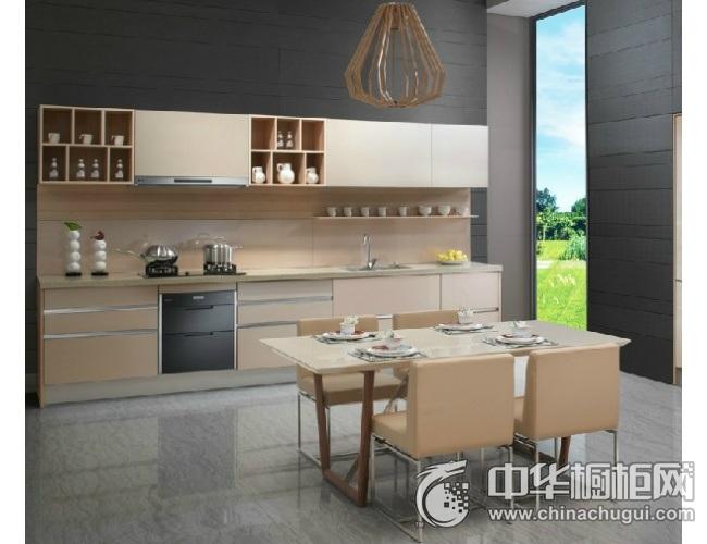现代简约风格厨房装修效果图 简约风格橱柜图片