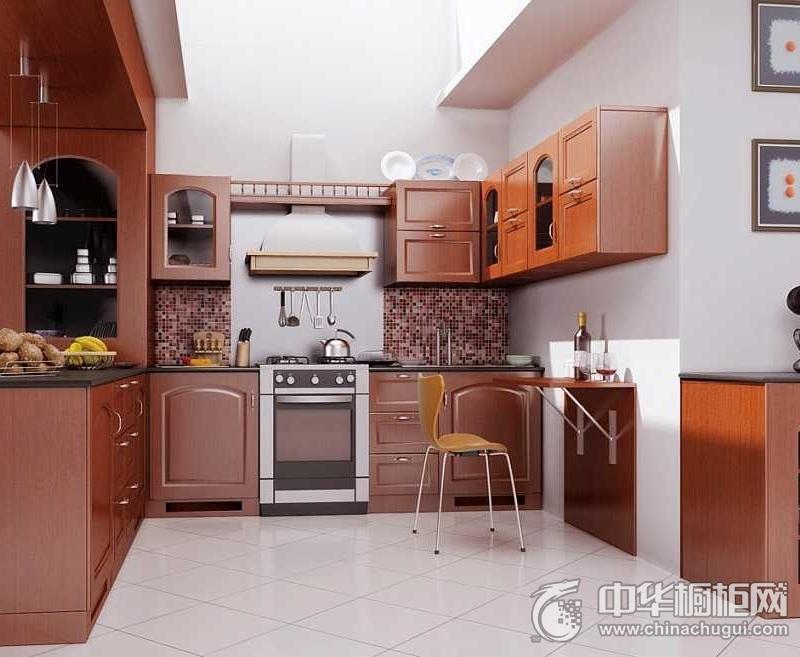 精致厨房现代风格橱柜装修实景图 洗切煮流畅分区