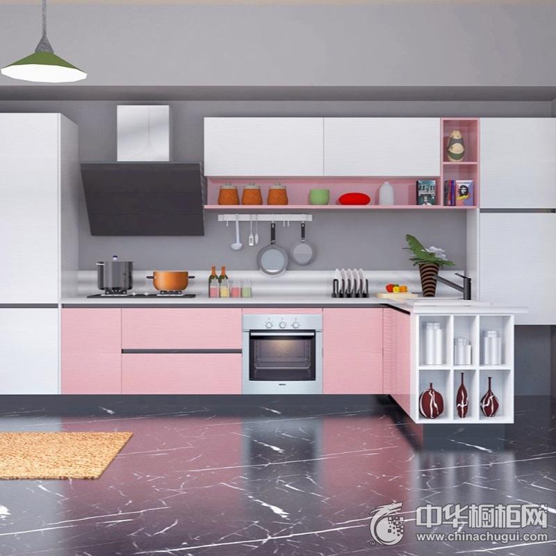 和美家装修效果图 金属系列厨柜
