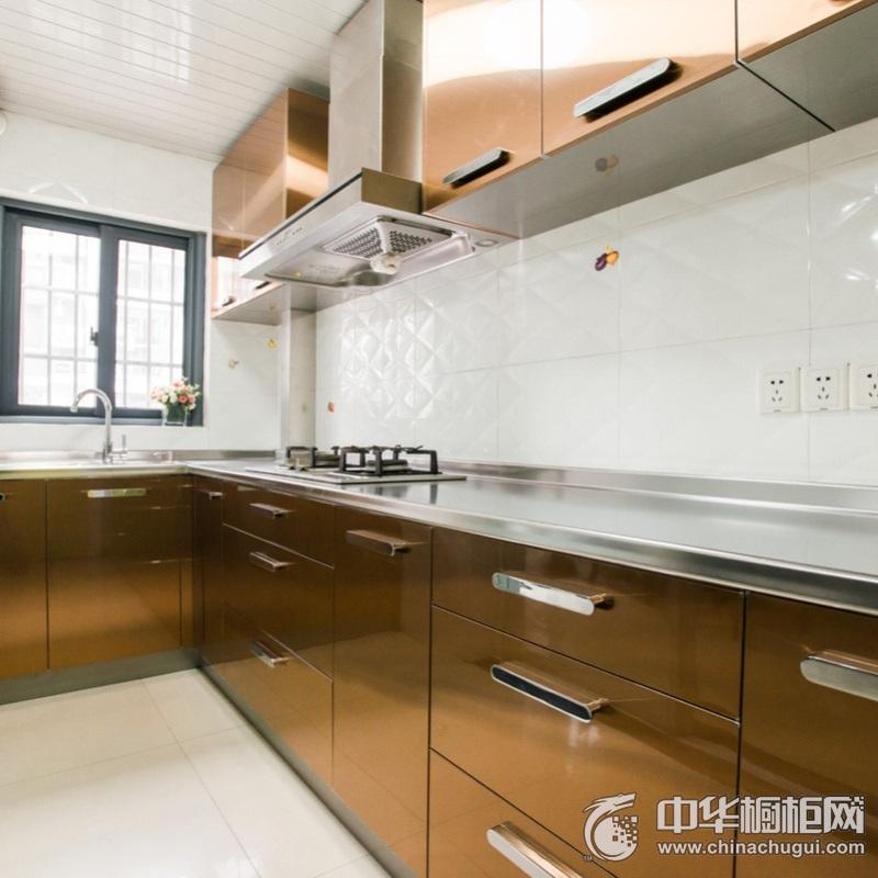 厨房空间烤漆整体橱柜效果图 烤漆橱柜效果图