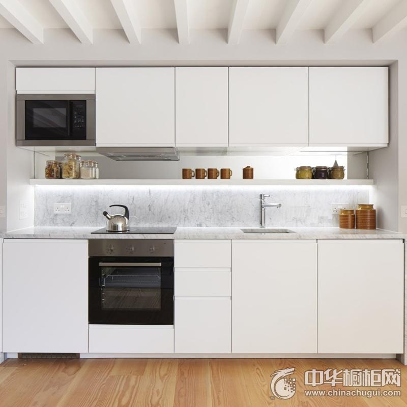 北欧风格厨房橱柜装修图片 开放式厨房整体橱柜图片