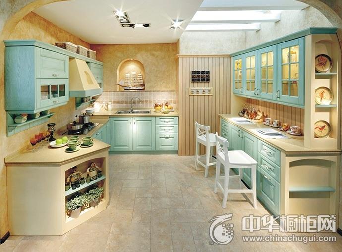德贝厨柜图片 地中海风格橱柜