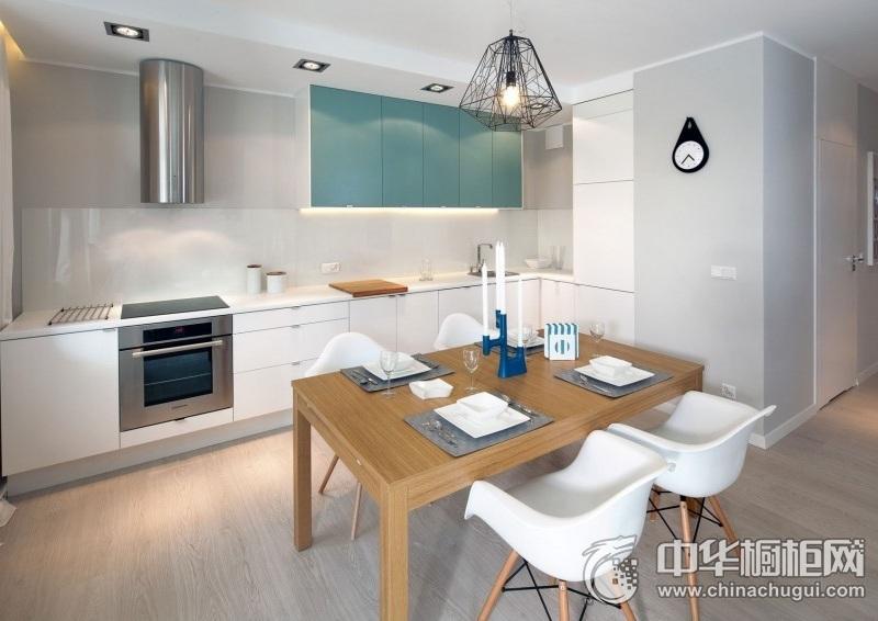 让你爱上做饭的感觉  20款纯白整体橱柜设计效果图欣赏