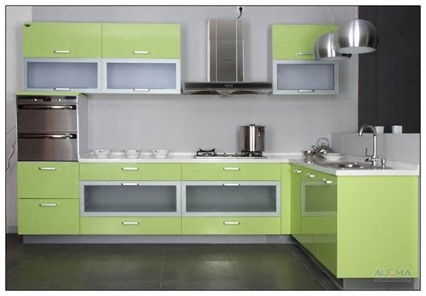 整體櫥柜把廚房裝進柜子