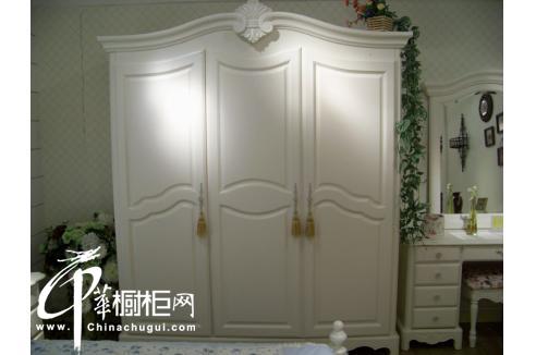 韩式田园整体衣柜图片