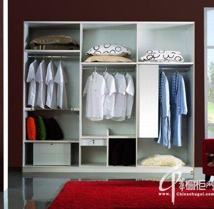 10款整体衣柜效果图 炫彩时尚衣帽间
