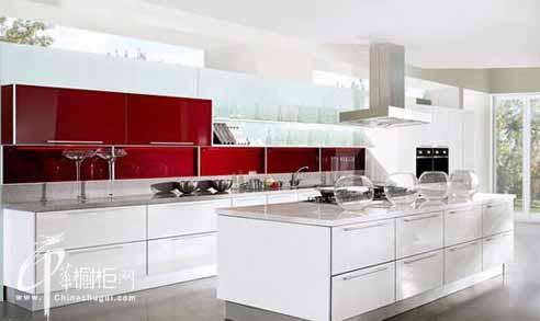 四款时尚橱柜欣赏 现厨房岛台魅力