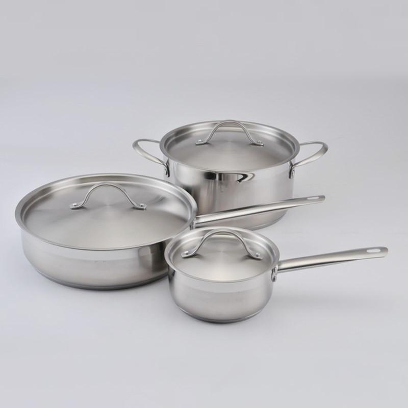 高端厨房用品-不锈钢锅图片